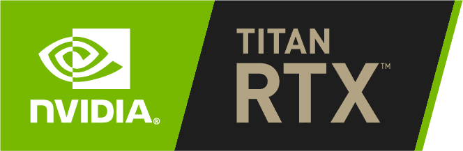 NVIDIA Titan RTX Badge