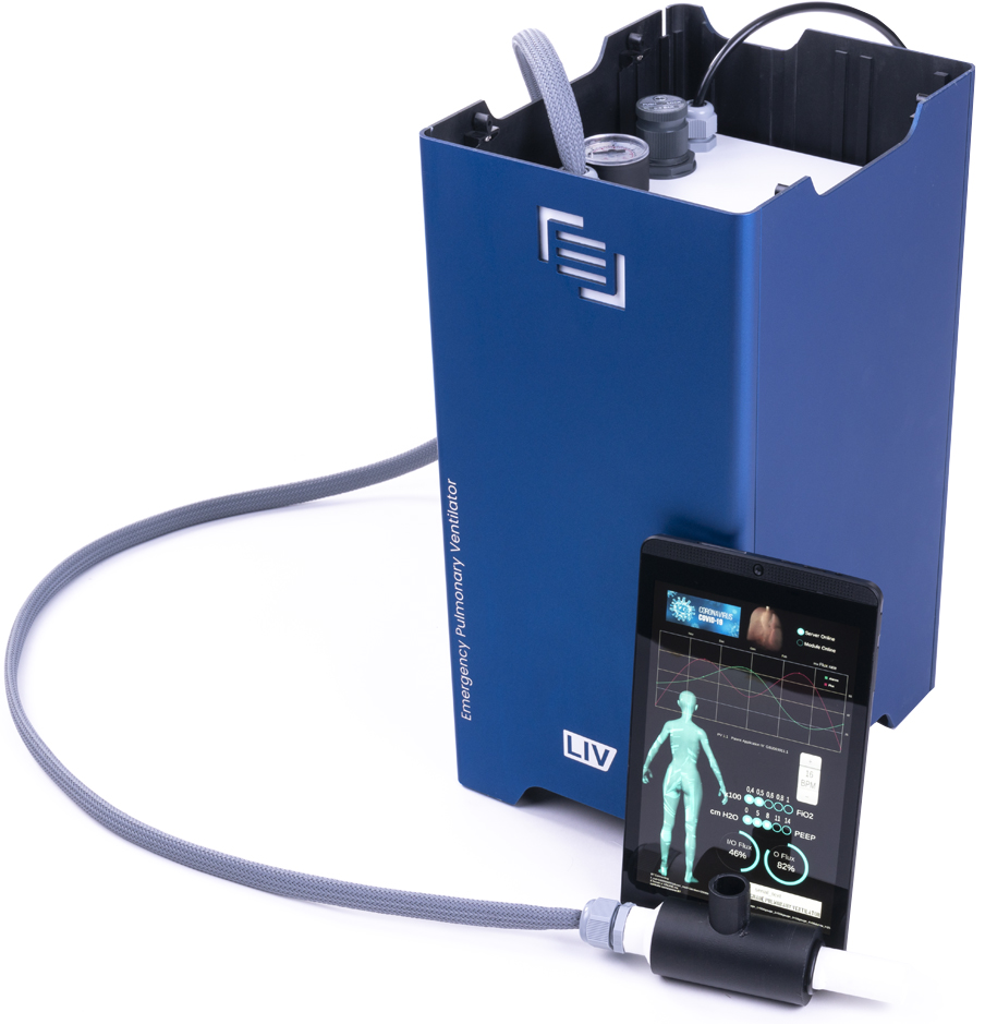 MAINGEAR LIV Emergency Pulmonary Ventilator