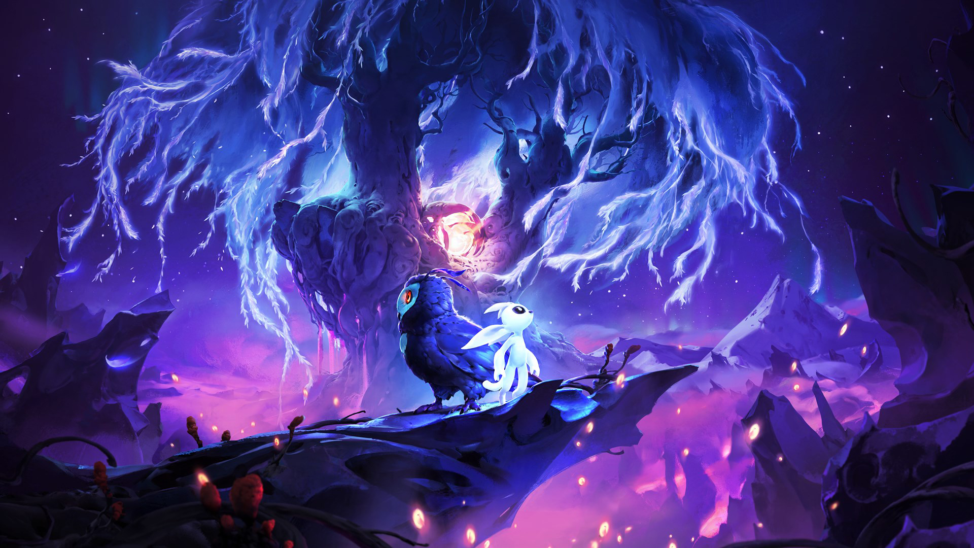 Game art for Ori and the Will of the Wisps